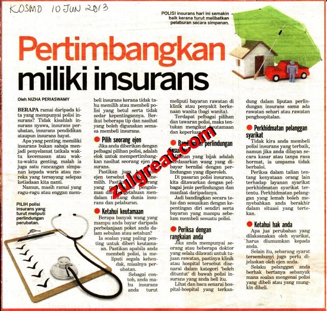 Pertimbangkn insurans