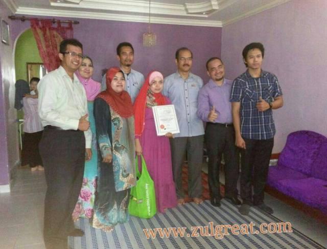 Serah sijil badal haji2