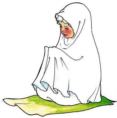 isteri berdoa