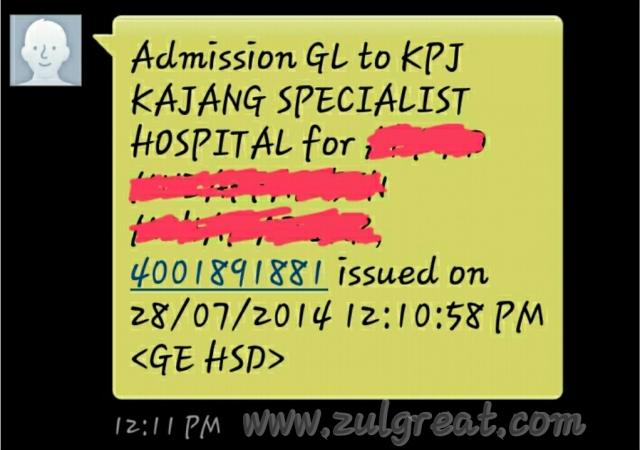 Admission GL